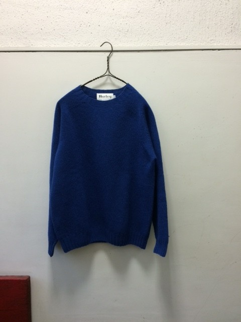 Harley of Scotland/Seamless Crew Neck Sweater