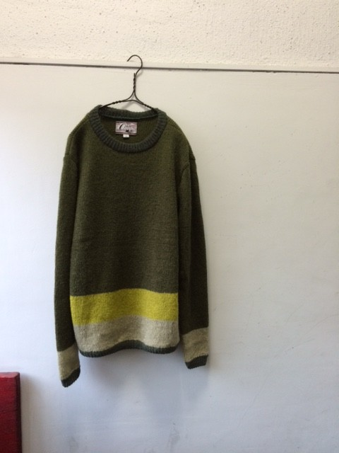 "Ohio Knitting Mills/ Crew Neck Sweater ""Mocozi"""