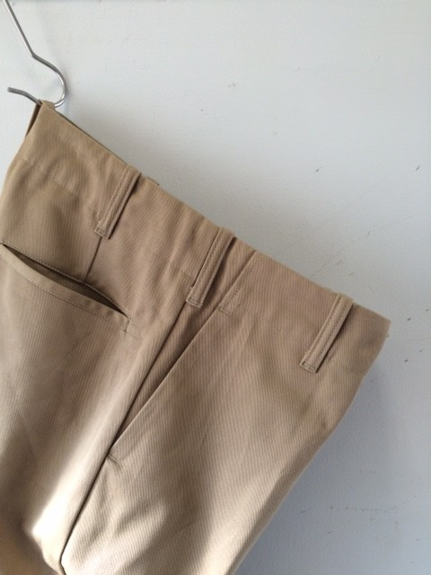 TUKI/Trousers,Old Chino Cloth