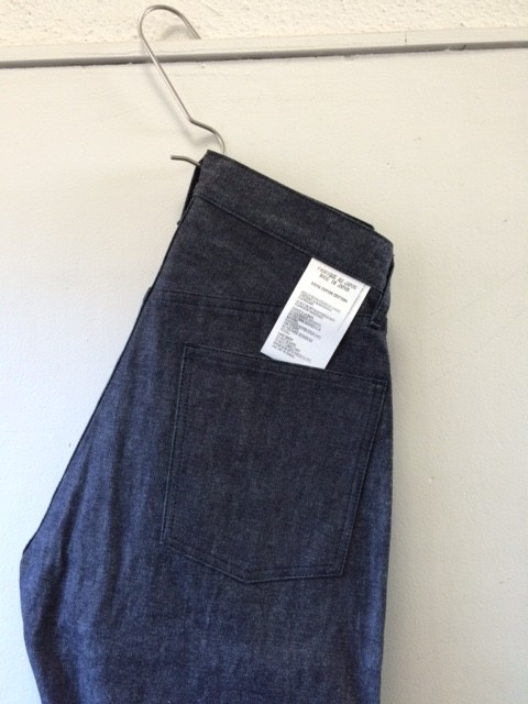 TUKI/Duck Tail Pants,High Count Denim