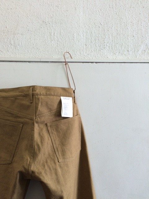 TUKI/Duck Tail Pants,Cotton Linen Serge