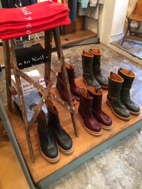 "Engineer Boots ""green"" & Pecos Boots ""burgundy"" , Pecos Boots ""navy"""