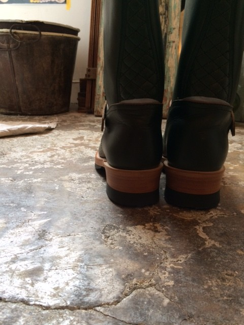 """MADE IN GM JAPAN/Engineer Boots """"green"""""""
