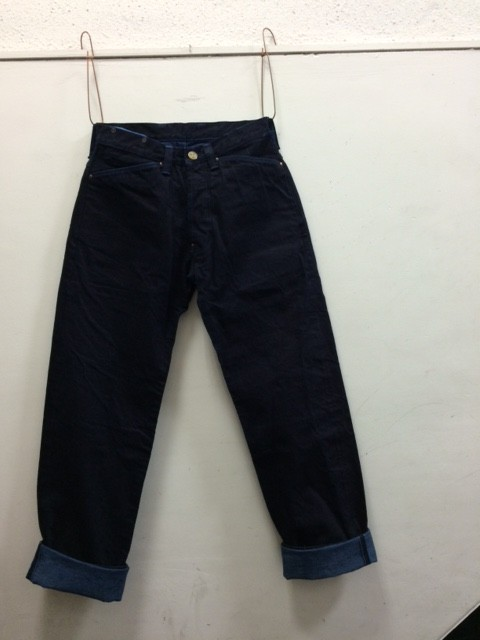 "TENDER Co./Type132 Wide Jeans ""Woad Dyed"""