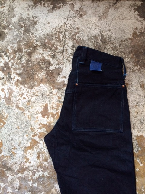 """TENDER Co./Type130 Tapered Fit Jeans """"Woad Dyed"""""""