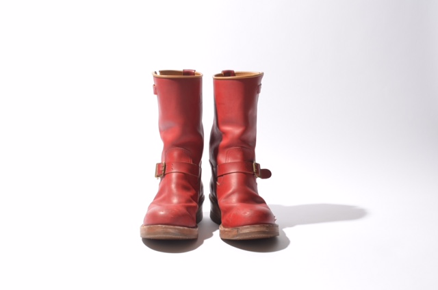 """MADE IN GM JAPAN/Engineer Boots """"apple"""""""
