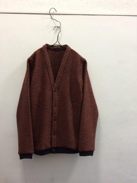 FRANK LEDER/Colourful Wool Cardigan