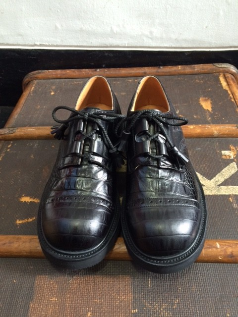 Quilp by Tricker's/Cap Toe Ghillie Shoes