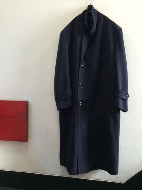 1960's Vintage French Military Wool Coat