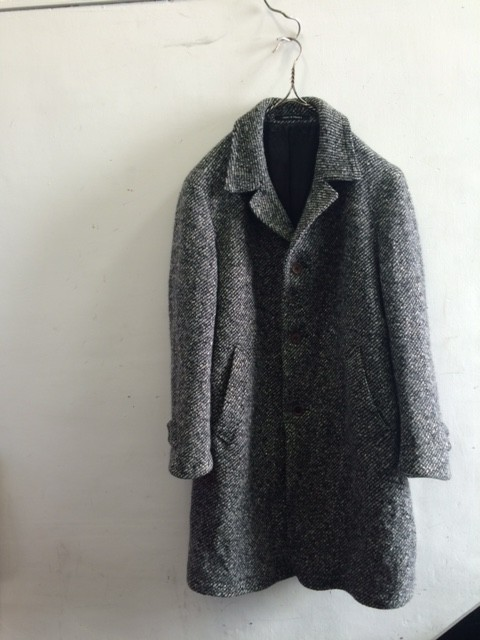 1960~70's Vintage French Wool Tweed Coat