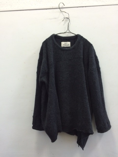 kaval/Patchwork Crew Neck Knit