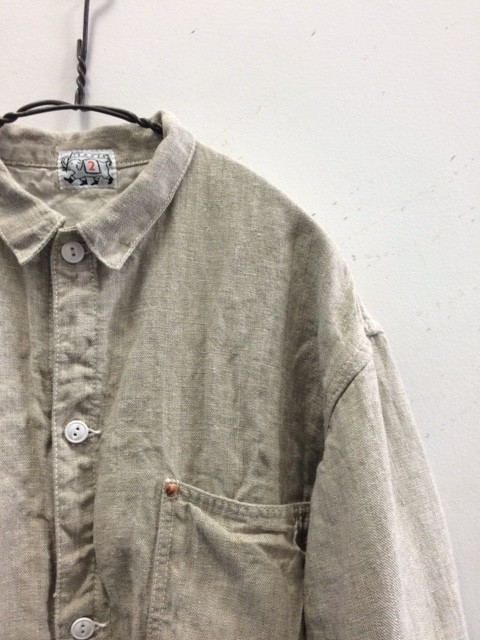TENDER Co./Panel Line Jacket