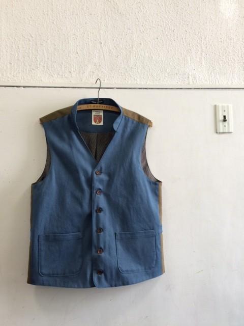 Frank Leder/Triple Washed Cotton Vest
