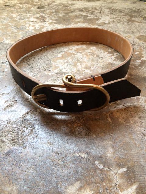 "TENDER Co./Type210 Flipper Buckle Belt ""reversible"""