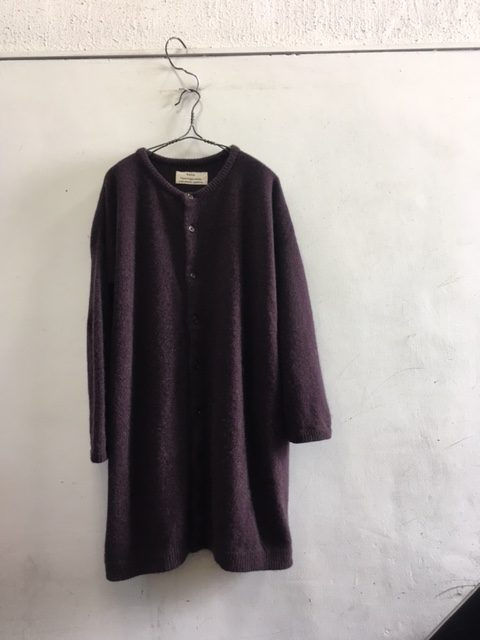 "kaval/Cardigan Knit ""cashmere sable"""