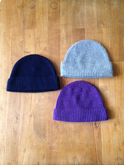 JOHNSTONS/Cashmere Knit Cap