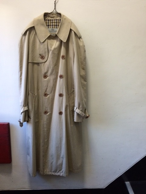 "1960's Vintage British Trench Coat ""Aquascutum"""