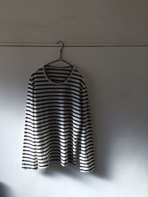 Smoothday/Crew Neck Tee,Stripes