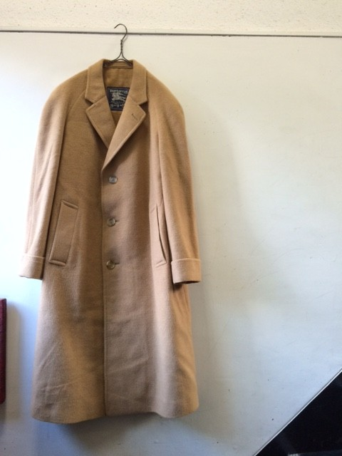"""1970's Vintage Chesterfield Coat """"Burberry"""""""