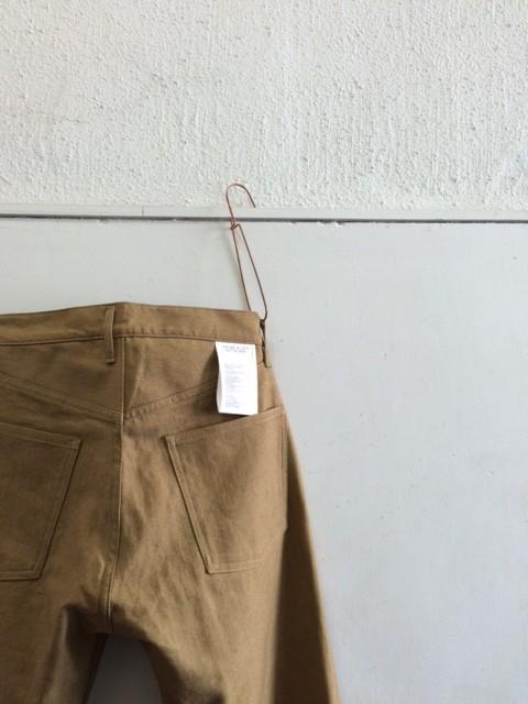 TUKI/Duck Tail Pants,Cotton Linen Serge