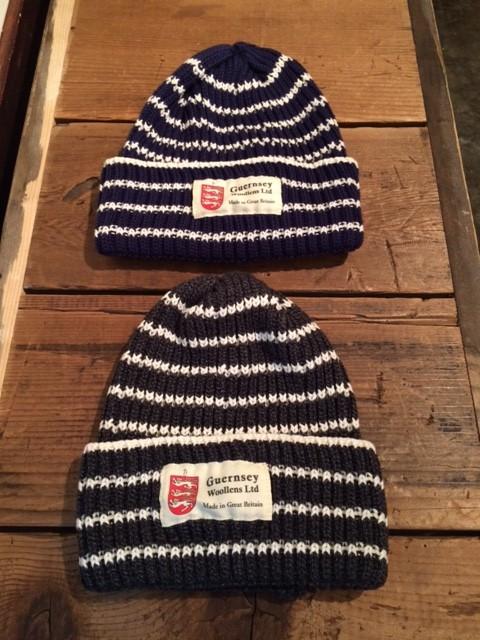 Guernsey Woollens/Striped Knit Cap