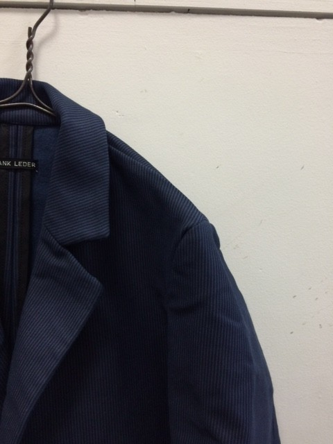 Frank Leder/Hamburg Stripe Cotton Jacket