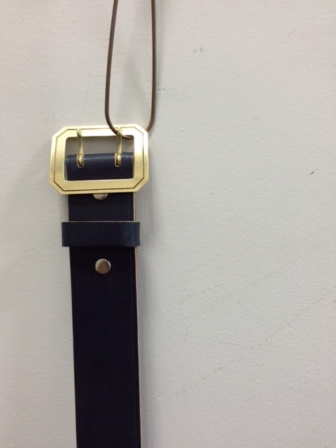 MADE IN GM JAPAN/Bridle Leather Belt