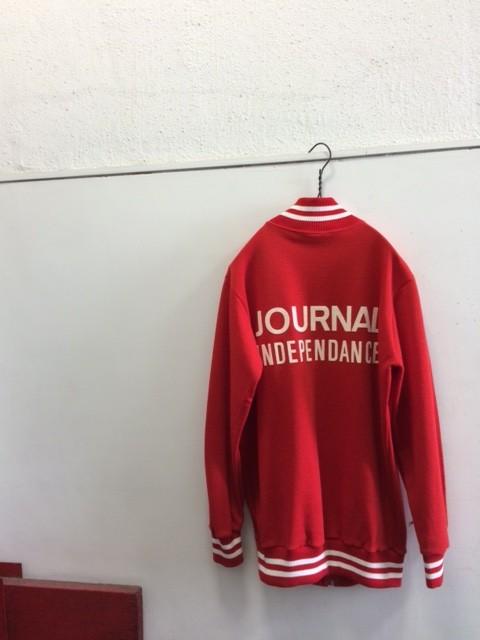 "1970's Belgium Cycling Jersey ""Journal Independance"""