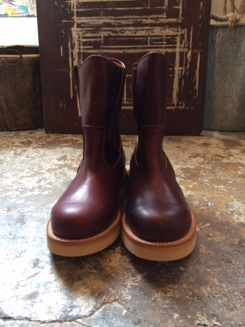 "MADE IN GM JAPAN/Pecos Boots ""burgundy"""