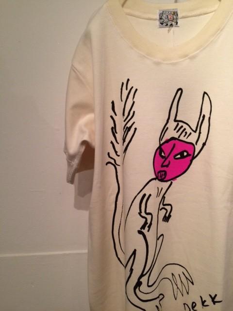 "TENDER Co./B&S Special Rib Hem T-Shirt ""Kafka"""