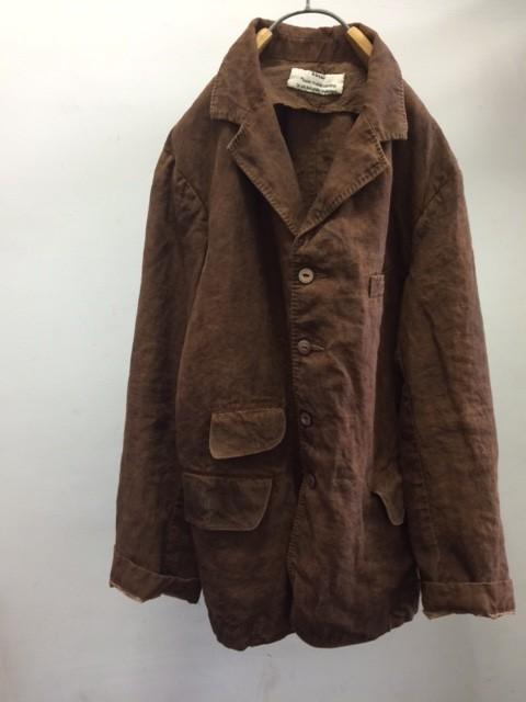 "kaval/B&S Special Classic Tailored Jacket ""Kakishibu dyed"""