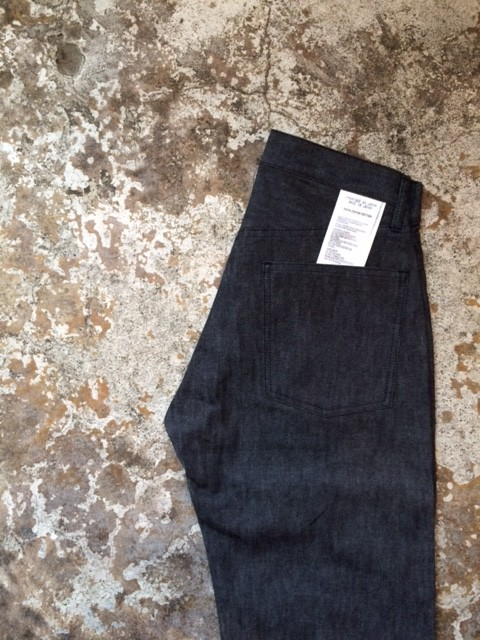 "TUKI/Duck Tail Pants ""High Count Denim"""