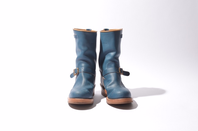 "MADE IN GM JAPAN/Engineer Boots ""sky sky"""