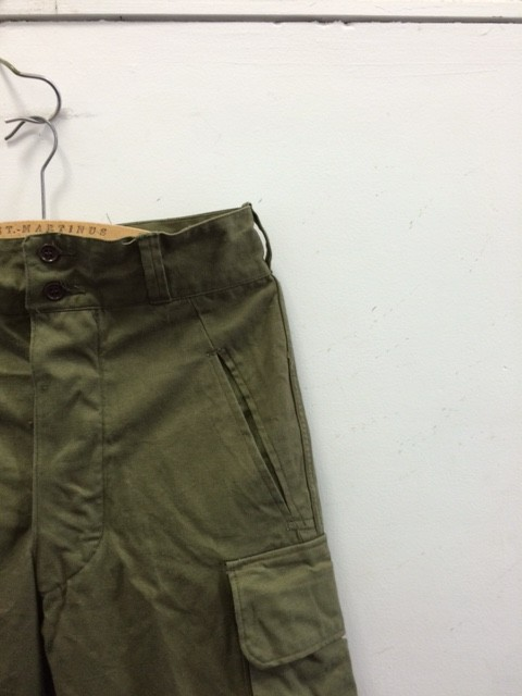 1950's Deadstock French M-47 Trousers
