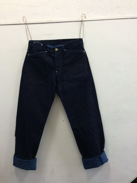 "TENDER Co./Type130 Tapered Fit Jeans ""Woad Denim"""