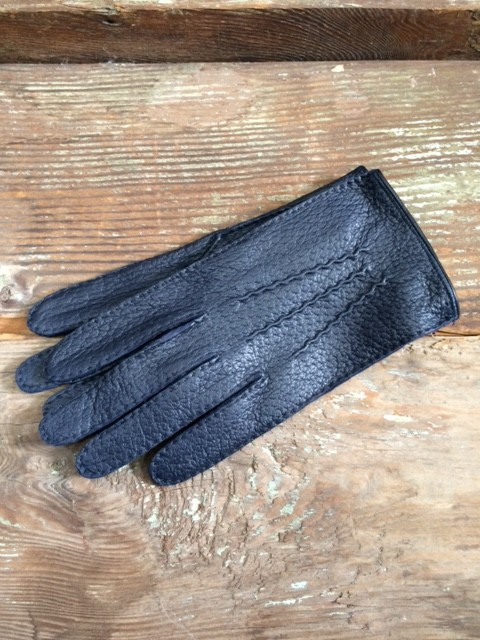 DENTS/Peccary Leather Gloves,Unlined