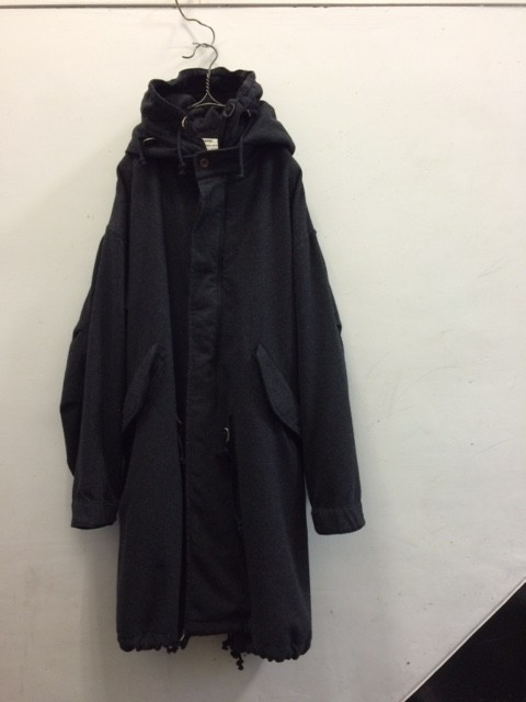"kaval/B&S Special Fish Tail Long Coat ""cashmere"""