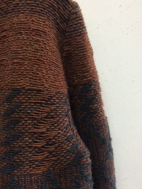 Frank Leder/Hand Knitted Wool Crew Neck
