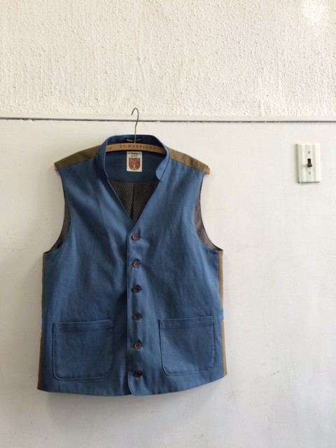 Frank Leder/Triple Washed Cotton Vest