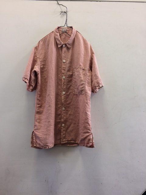 "TENDER Co./SQ Tail Shirt ""madder dyed"""