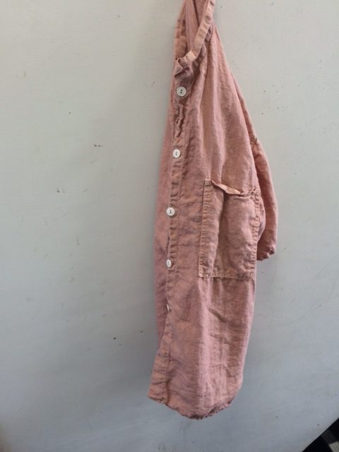 "TENDER Co./SQ Tail Shirt ""madder dyed"""
