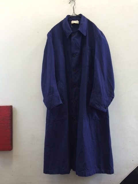 1930's Deadstock French Blue Coat