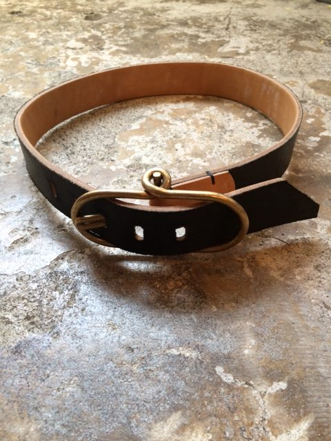 "TENDER Co./Type210 Flipper Buckle Belt ""reversible"""