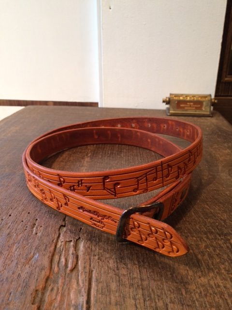 "DA'S×Rooster King&Co./Stamping Belt ""Ultra-long"""