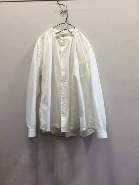 kaval/Stand Collar Basic Shirt
