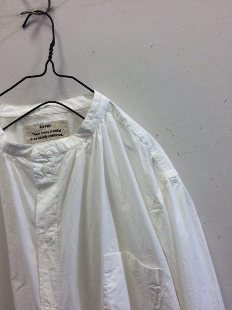 kaval/Stand Collar Basic Shirt