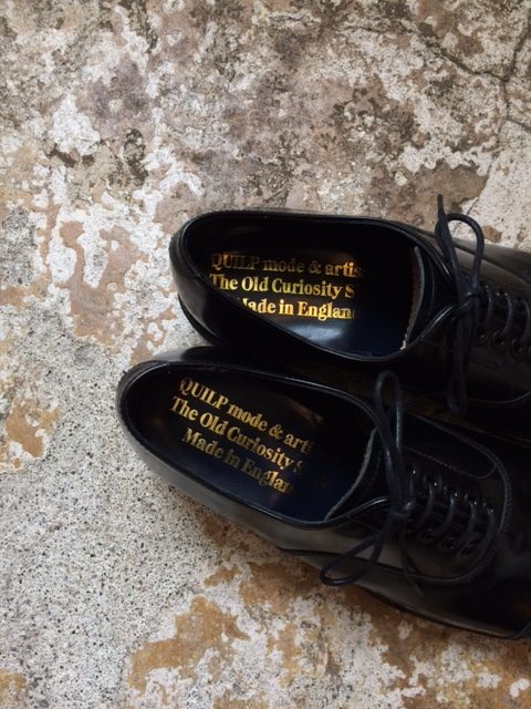 Quilp/Cap Toe Army Oxford Shoes