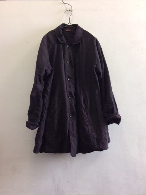 "kaval/Dohchu-blouse Patchwork Reversible ""linen patchwork vintage"""