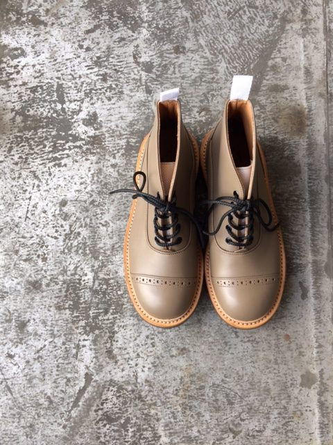 Quilp by Tricker's/M7625 Two Tone Oxford Boots