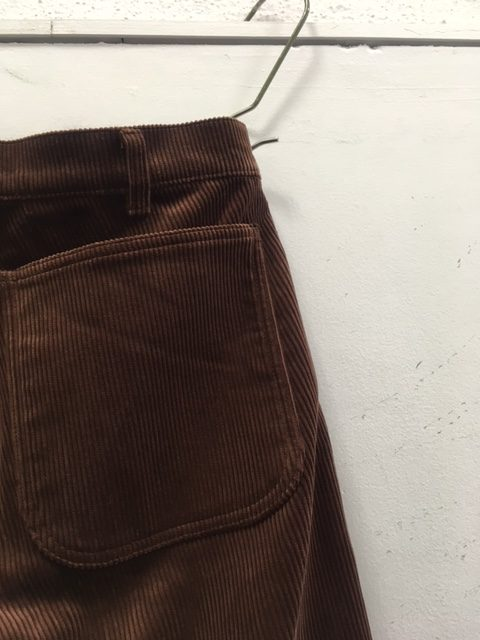 "TUKI/Patched Work Pants ""8 wale corduroy"""